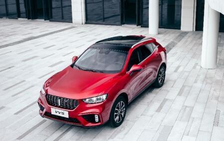 汽车界的明星SUV VV5情商颜值双高显实力