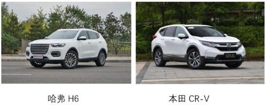 自主SUV中的王牌车型,哈弗H6比本田CR-V更香