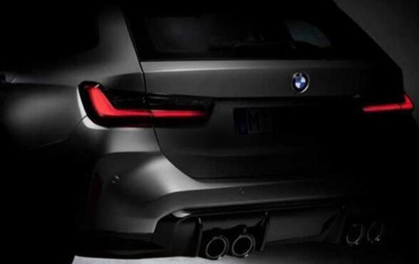 全新宝马M3旅行版预告图 将2023年发布