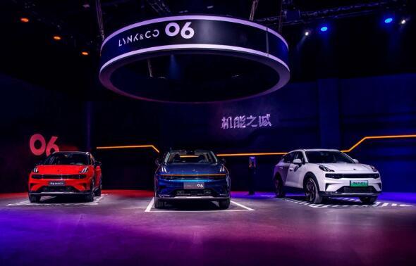 新都市机能SUV领克06任性来袭 售价11.86万元起