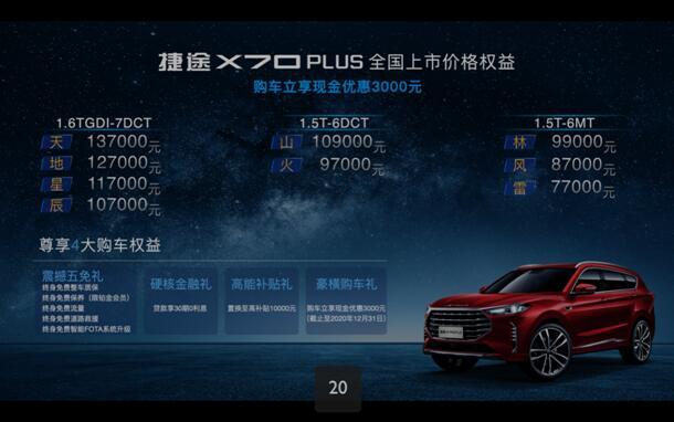 国产SUV新标杆,捷途X70 PLUS鲁豫地区正式上市